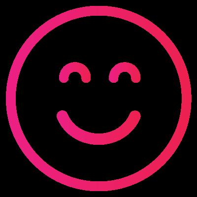 An icon of a smiley face.